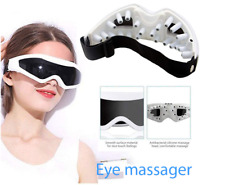 Massager Eye Electric Vibration Anti Air Heat Care Facial Roller Therapy Face