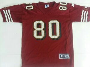 Vintage Jerry Rice San Francisco 49ers Staters Youth Jersey Size L made in USA