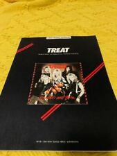 Treat scratch and bite guitar song book japan Rare Glam Sleeze Hard Rock