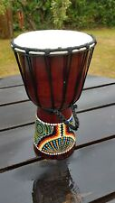 Djembe Drum 30cm - Hand Painted