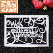DIY Square Letters Dies Metal Cutting Stencil For Scrapbooking PaperCards Decor