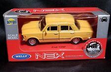 NEX Models Dromader Fiat 125P, Yellow, Sealed