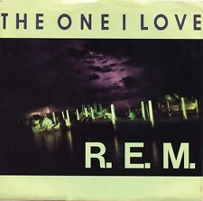 """R.E.M. """"The One I Love"""" (45 RPM) 7"""" Vinyl Record w/ Picture Sleeve MINT"""