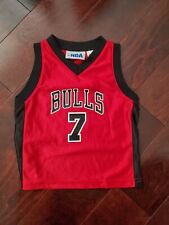 Chicago Bulls 7 Gordon Red Jersey NBA Toddler 3T