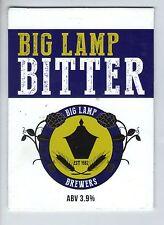 BIG LAMP BREWERS (NEWCASTLE) - BIG LAMP BITTER - PUMP CLIP FRONT