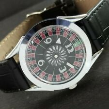 New listing ARTDECO STYLE WINDING VINTAGE SWISS MENS WATCH MOVABLE MIDDLE RING 459da231350-4