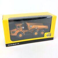 Volvo a40D Metal Diecast Model 1:87 Yellow Dump Truck Tipper in Box