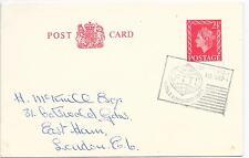 GB especial cancelar tarjeta Post Congreso Mundial de 16/9/63; p.t.t.i. LONDRES; H&B CP109.