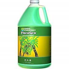 GENERAL HYDROPONICS FLORA GRO 3.79L 1 GALLON FLORAGROW GROW HYDROPONIC NUTRIENT