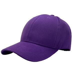 Plain Blank Solid Adjustable Baseball Cap Hats (ship in BOX!)