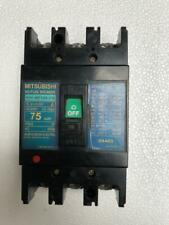 MITSUBISHI NF100-CS NO-FUSE CIRCUIT BREAKER 75 AMP. 3 POLE 600 VAC
