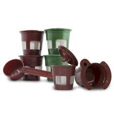K2V-Cup Adapter Converter + Coffee Scoop + 5 Reusable K-Cup Pod for Keurig VUE