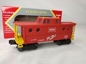 """Williams Trains Railroad N5C Porthole Caboose """"Frisco"""" O Scale Gauge O-27 NEW"""