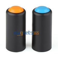 2 Colors Battery Screw On Cap Cup Cover For SHURE PGX2 SLX2 Wireless Microphones