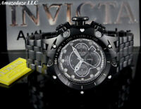 NEW Invicta Men's 52mm Venom Hybrid Chronograph Stainless Steel BLACK DIAL Watch