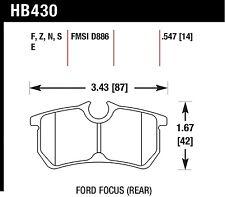 Hawk Performance HB430N.547 Fade Resistant Disc Brake Pads
