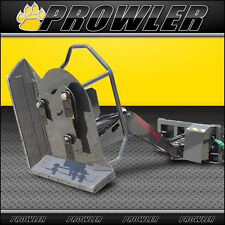 Swing Arm Boom Mower - 42 Inch Cut, Angled Arm Cutter Skid Steer Attachment