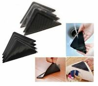 8 X CARPET MAT RUG GRIPPERS NON SLIP REUSABLE RUGGIES GRIPS WASHABLE