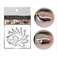 Non-woven Eye Makeup Stencils Eyeliner Template Shaping Tools Eye Shadow BH