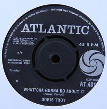 "DORIS TROY WHAT'CHA GONNA DO ABOUT IT ATLANTIC 7"" 45RPM VINYL RECORD EX/EX+!"
