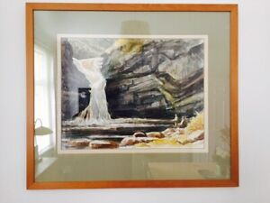 Watercolour Painting - Sir Kyffin Williams Interest