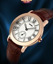 ladies fashion watch water resistant to 3atm gold alloy case