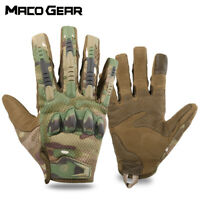Men Touch Screen Tactical Gloves Airsoft Hunting Sport Shooting Motorcycle Biker
