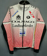 MEN'S JACKET VERMARC CYCLING BICYCLE JERSEY CAMISETA MAGLIA LONG SLEEVE SIZE S