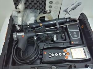 Testo 330-1 LL - flue gas analyse + printer + pump + probe + case