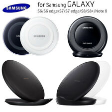 OEM Qi Fast Wireless Charger Pad Stand Dock For Samsung Galaxy S6 S7 S8 S9 Note8