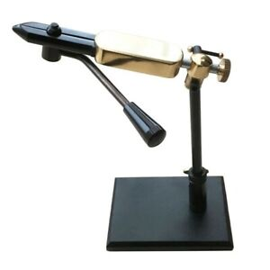 MDI Game Free Standing Rotatable Lever Action Fly Tying Vice with Pedestal base