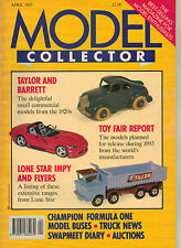 MODEL COLLECTOR Magazine Apr 1993 Buses Trucks Cars Aircraft EFE Lone Star