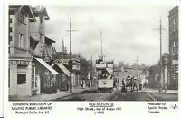 London Postcard - Old Acton 11 - High Street - Top of Acton Hill c1903   U682