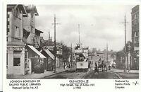 London Postcard - Old Acton II - High Street - Top of Acton Hill c1903  - U682
