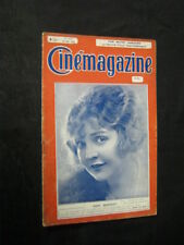 MAY 18, 1923 FRENCH CINEMAGAZINE Uncut Complete 35 pgs