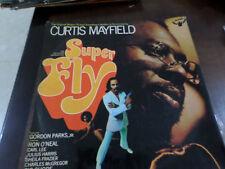 SUPERFLY OST CURTIS MAYFIELD ISRAELI LP ISRAEL PRESS funk soul