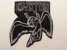ROCK PUNK METAL MUSIC SEW / IRON ON PATCH:- LED ZEPPELIN WINGED ANGEL ICARUS