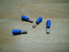 100 Flachsteckhülsen blau Steckmaß 2,8 für Kfz +++