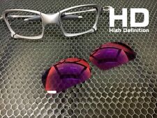 LINEGEAR Custom Lens for Oakley X-Squared - HD Red Mirror [XS-HD-RM] *Prizm