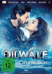 Dilwale - Ich liebe Dich (Shah Rukh Khan) Bollywood DVD NEU + OVP!