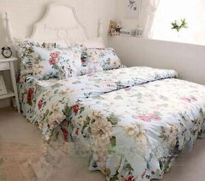 Pastoral Style FlouncedCotton Bedding Article Pure Cotton Four-piece of BedSkirt