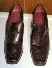 "Franco Sarto Dark Red/Burgundy BIBI Women's Shoes - 3"" Heels - Size 9M"