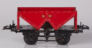 Hornby O Gauge No.1 SR Red and Black Hopper Wagon Gold SR