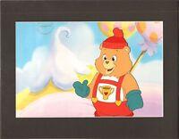 Care Bears Champ Bear Production Cel American Greetings Nelvana Animation