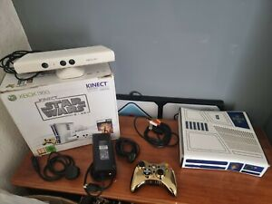 Microsoft Xbox 360 Limited Edition Kinect Star Wars 320GB R2-D2 with box