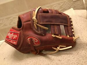 "Rawlings Pro Taper Platinum SP1121 11.25"" Baseball Softball Glove Right Throw"