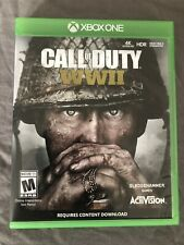Call of Duty WW2 II Xbox One Original Replacement Case ONLY NO GAME INCLUDED.