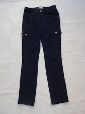 Peacocks navy cargo/skinny style with stretch jeans Size 10