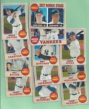 2017 Topps Heritage Yankees team set - 12 cards - Aaron Judge / Hicks RC