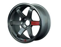 RAYS VOLKRACING TE37SL Forged Wheels 18x9.5J +22 Pressed Graphite from JAPAN